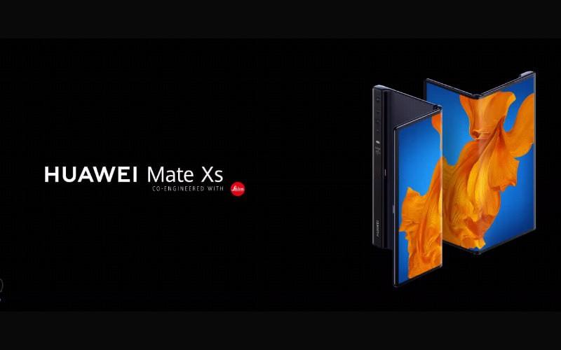 開價兩萬有找!HUAWEI Mate XS 5G 3月18日上市