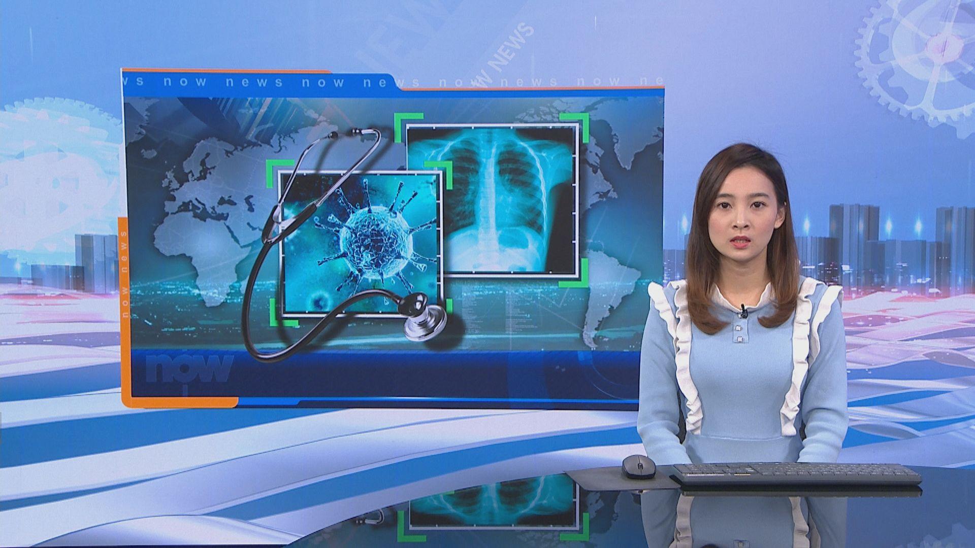 全球確診個案超過十六萬宗 死亡人數逾六千人
