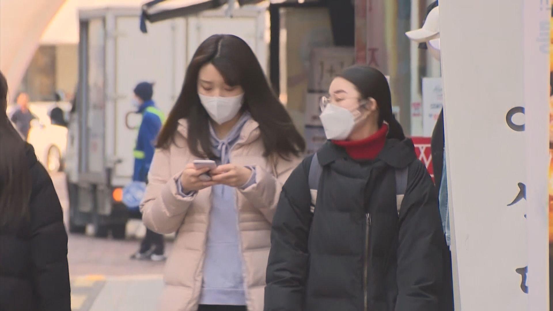 南韓周四起對所有旅客實施入境管制