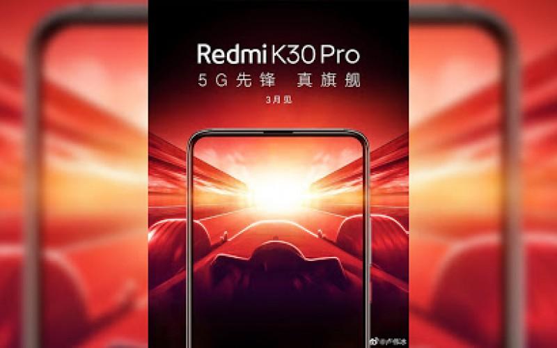 Redmi K30 Pro 變焦版曝光,基本規格與標準版分別不大