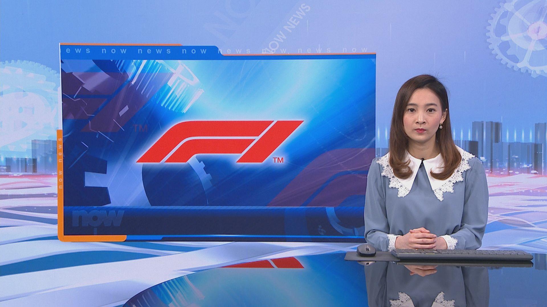 F1摩納哥站受疫情影響取消