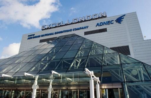 倫敦一個會議展覽中心改建成醫院提供四千張病床