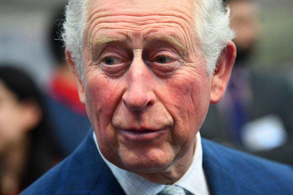 英國王儲查理斯證實感染新型冠狀病毒