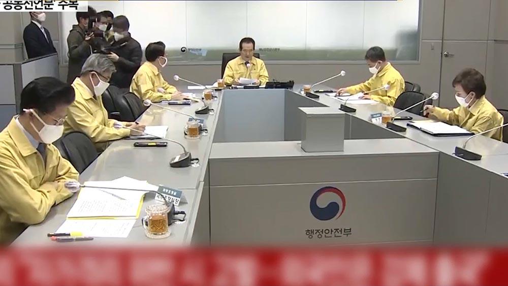 南韓首次境外輸入多於本土病例