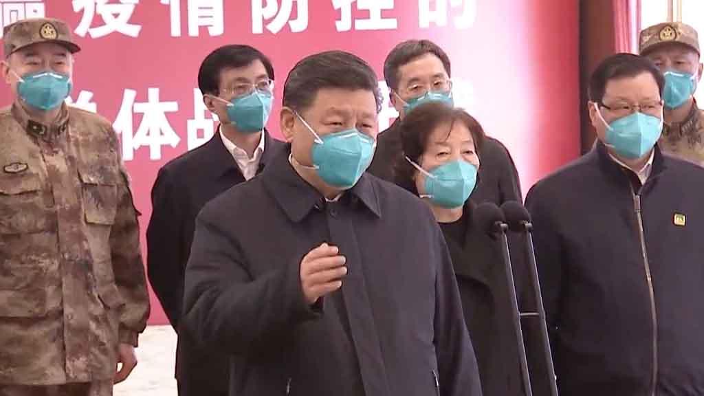 習近平在G20峰會呼籲國際社會團結應對疫情