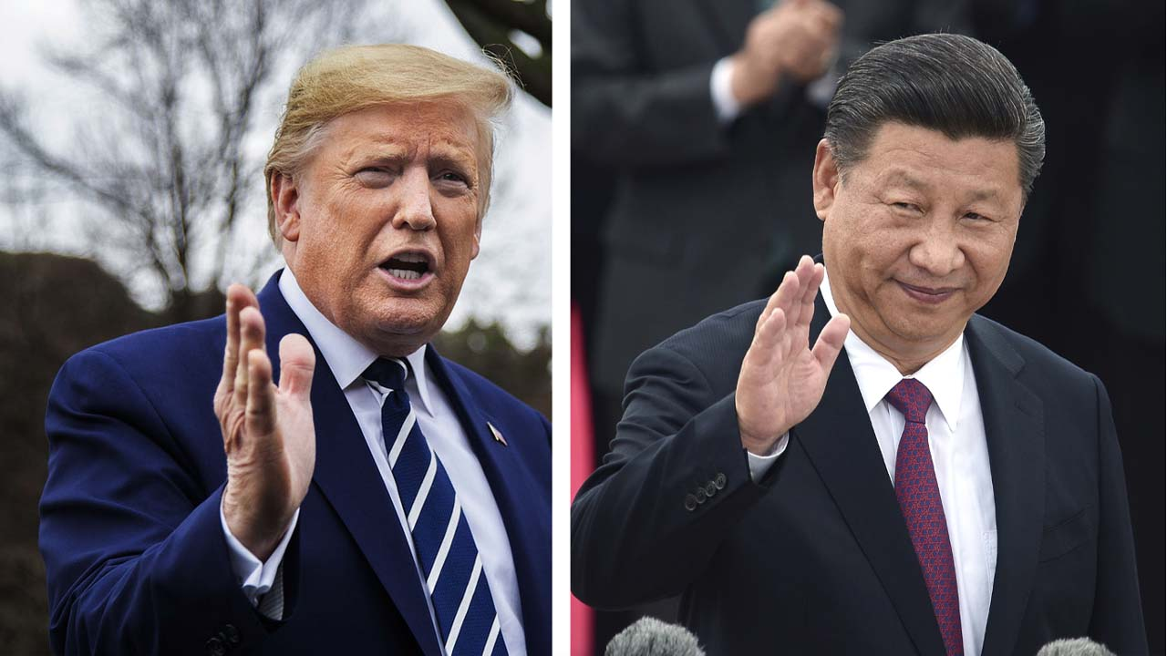 特朗普:將與習近平通電話 習未要求自己減少稱呼中國病毒