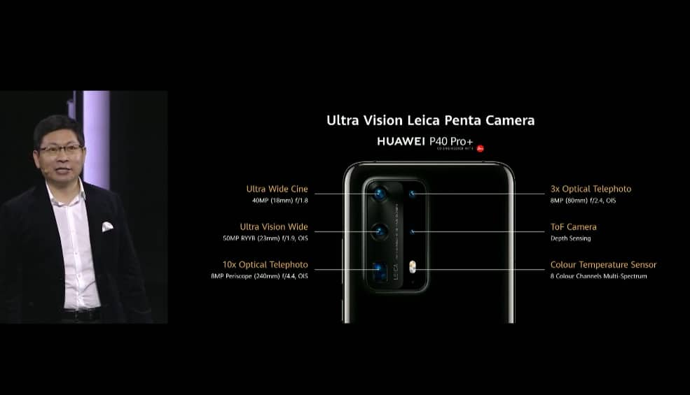 Ultra Vision Leica 鏡頭,攝影旗艦HUAWEI P40 系列正式發布!