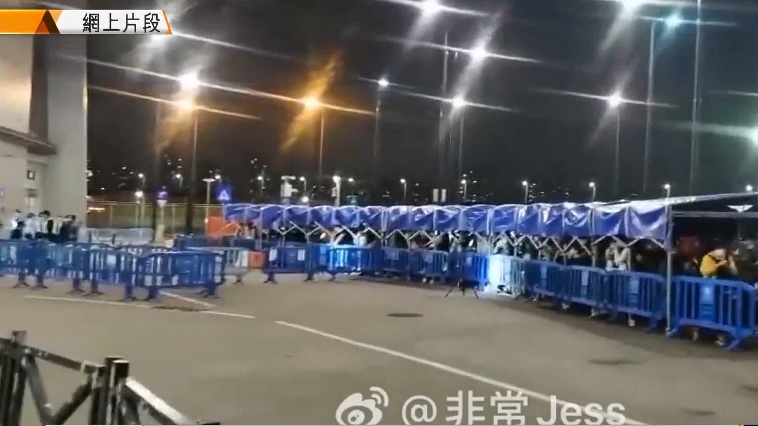 廣東規定入境人士須隔離 大批人漏夜過關