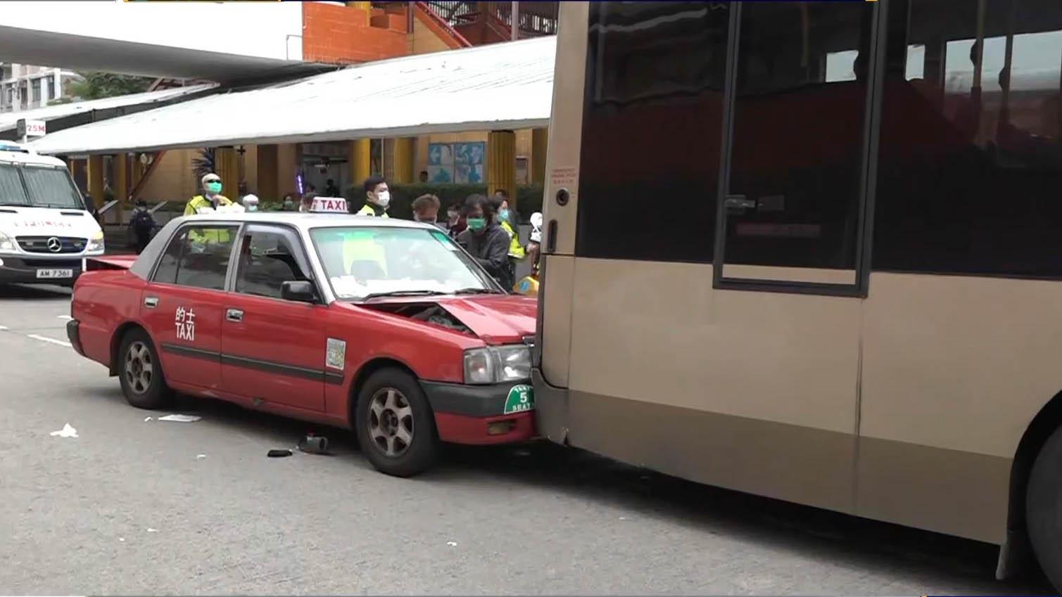 黃大仙交通意外 的士司機送院後不治