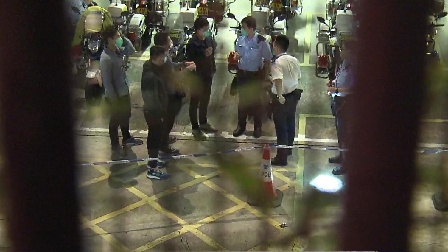 跑馬地警署遭投擲汽油彈縱火 無人傷