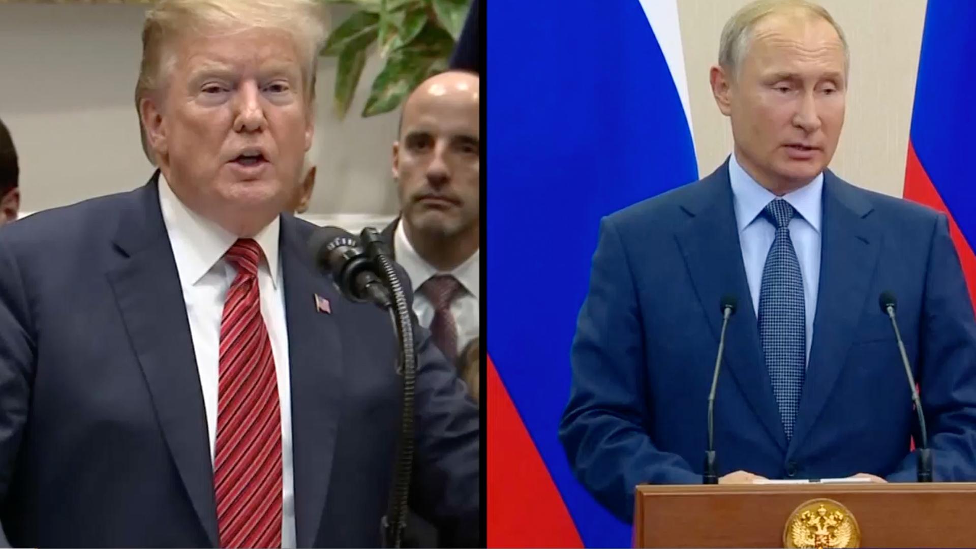 美俄元首通電話同意加強合作抗疫