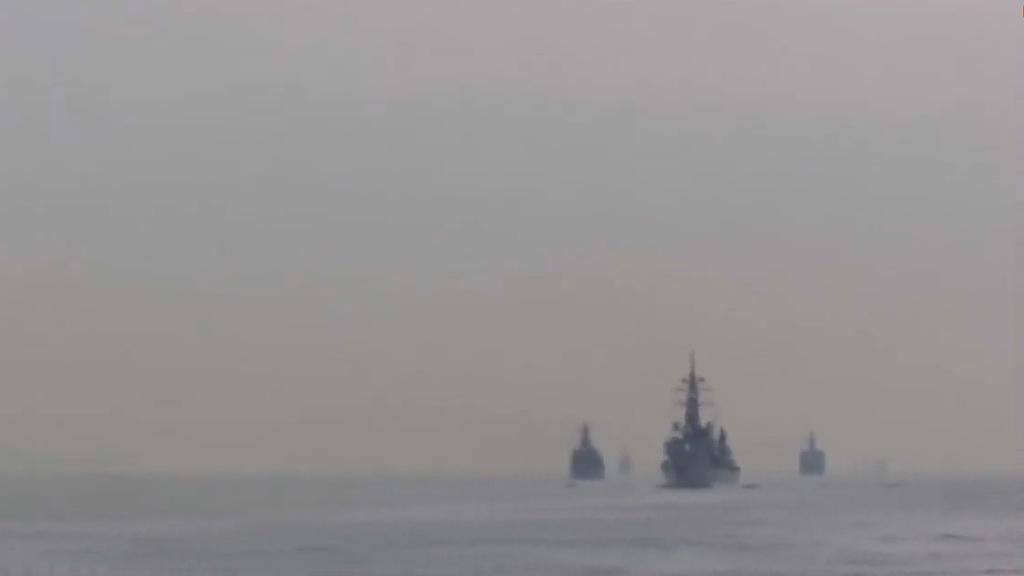 日本護衛艦與中國漁船東海相撞 北京冀日方配合調查