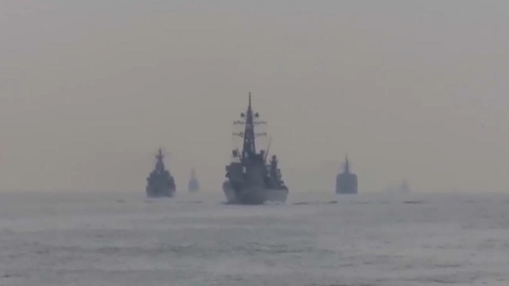 日本護衛艦與中國漁船相撞 中方指事件中一名漁民受傷