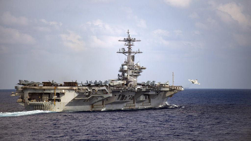 美航母羅斯福號艦長要求容許官兵下船檢疫