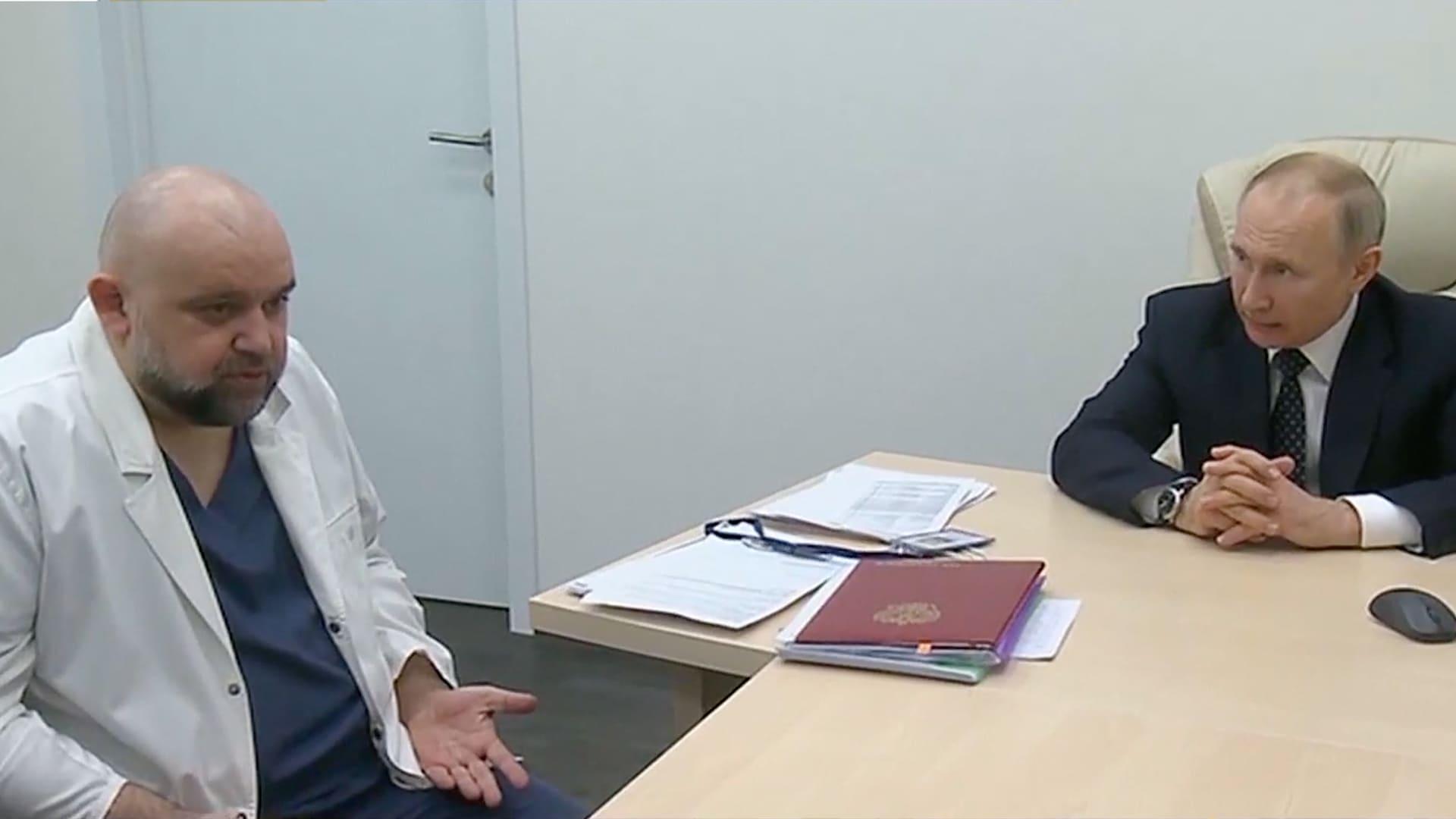 俄羅斯醫生確診染疫 曾與普京交談