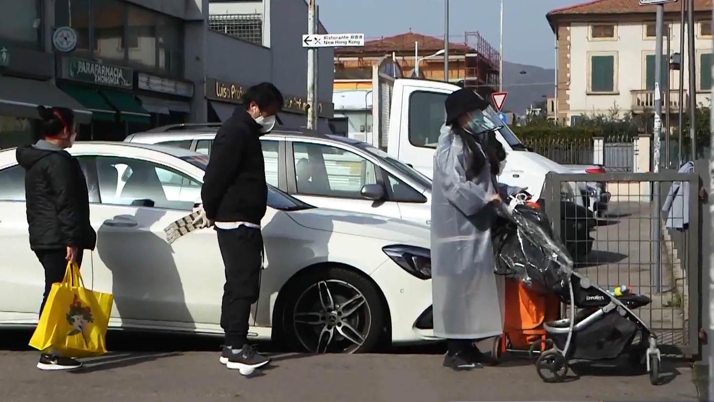 意大利華人聚居城鎮成抗疫模範