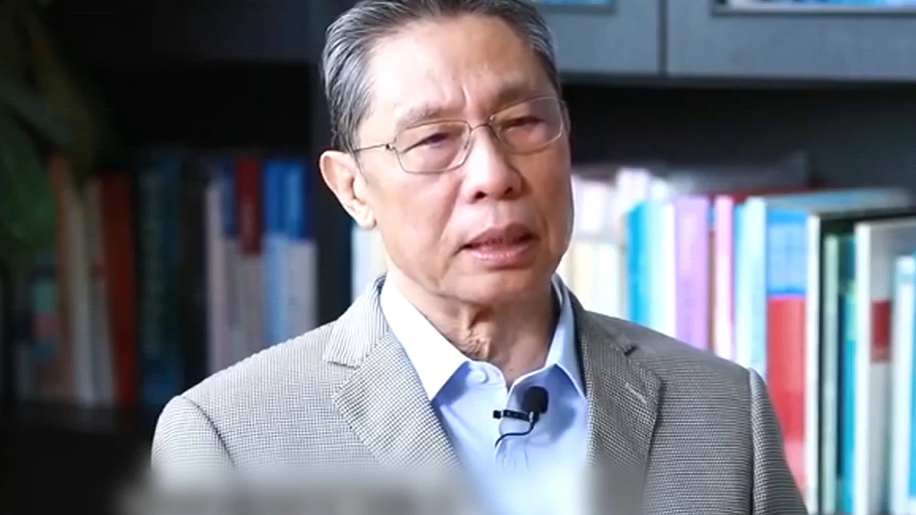 鍾南山:無症狀感染者不會引起第二波疫情爆發