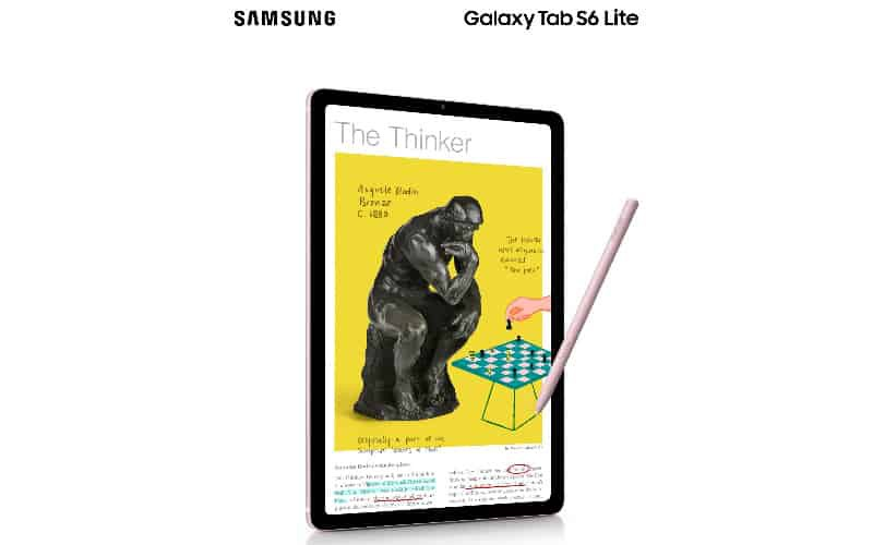 SAMSUNG Galaxy Tab S6 Lite 開價 $2,988,將於4月30日上市!