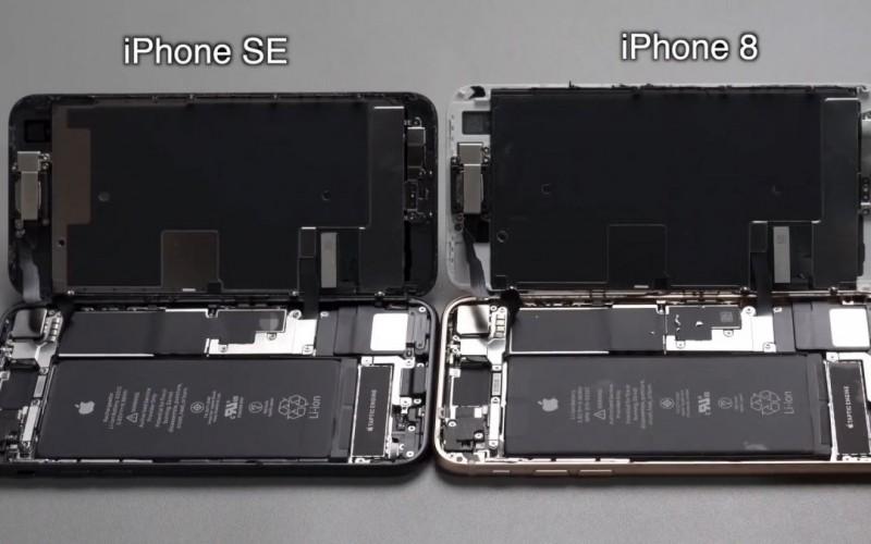 iPhone SE 2020拆解:究竟與iPhone 8有幾相似?