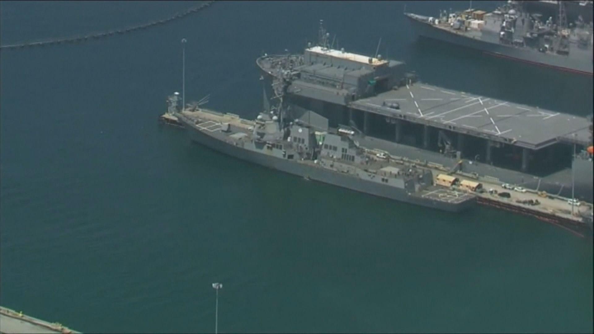 美軍驅逐艦基德號近三成人確診