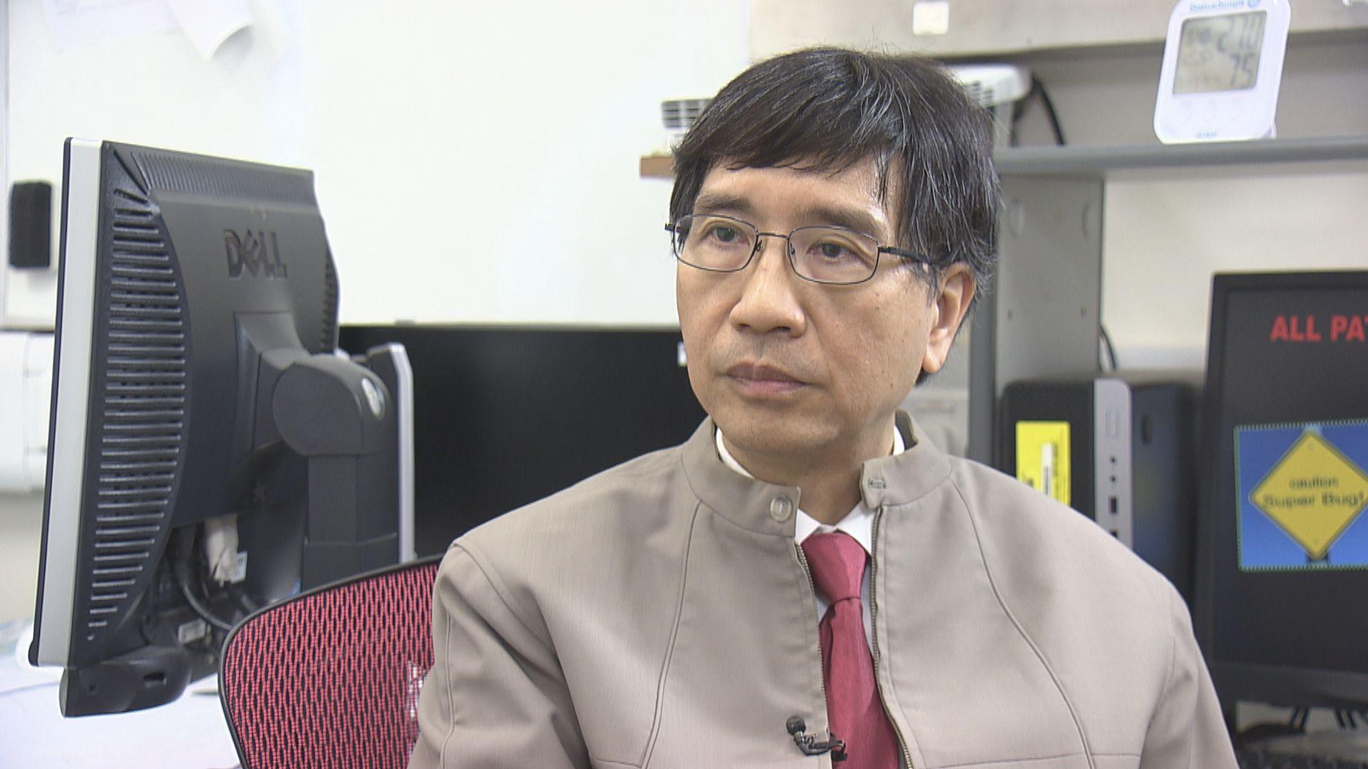 袁國勇︰新增個案是大警號 兩周內不應再放寬防疫措施