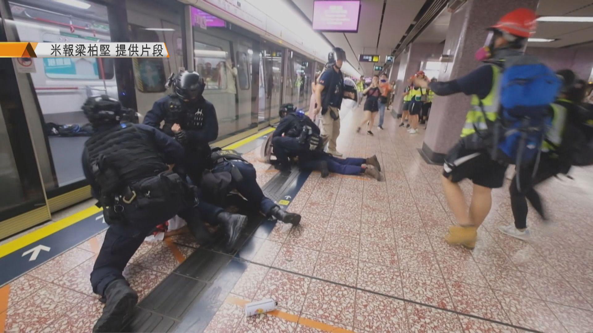 據了解監警會報告指831太子站封站合理 未觸及市民被警員打傷