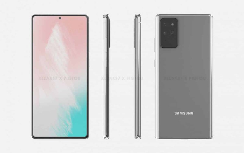 Samsung Galaxy Note 20+ 5G 電池規格曝光,外觀機身全面睇