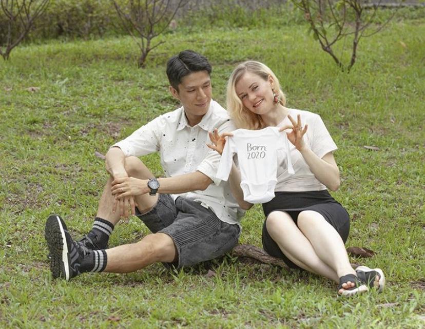與老公結婚3年 「鬼妹仔」陳明恩宣布將為人母