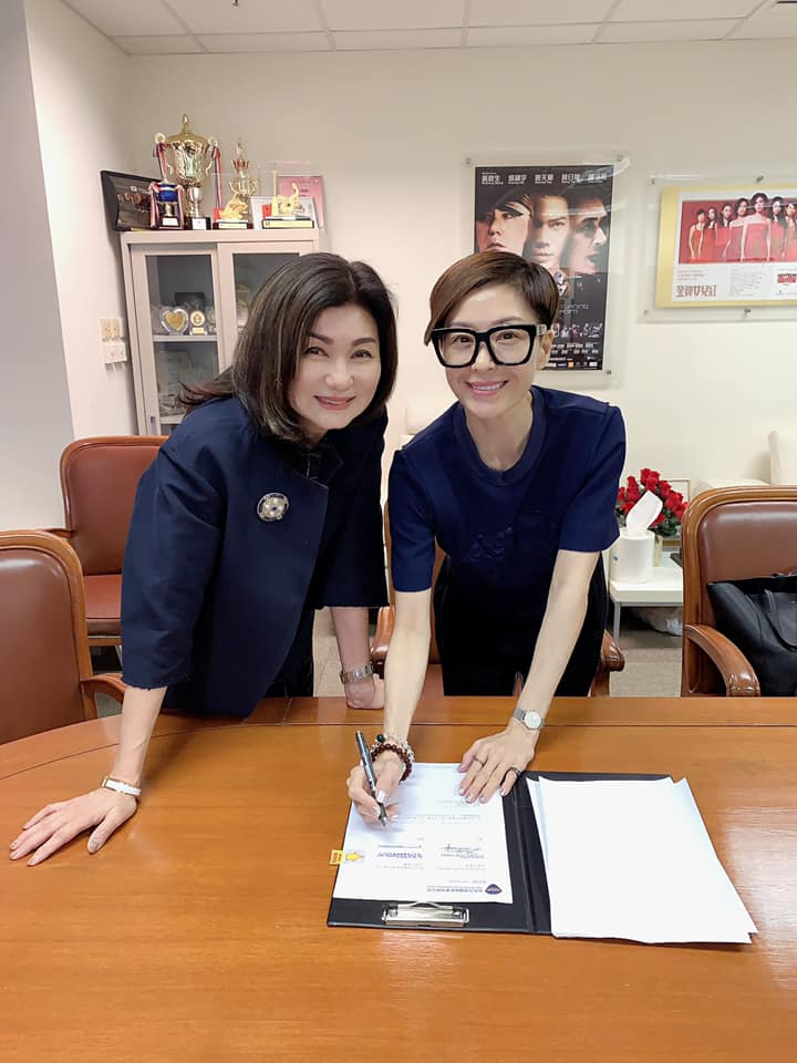 【離巢7年】伍詠薇簽約邵氏 宣布重返無綫「娘家」