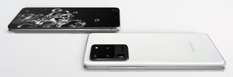 "SAMSUNG為Galaxy S20 Ultra 5G造加全新""Cloud White""新色!"