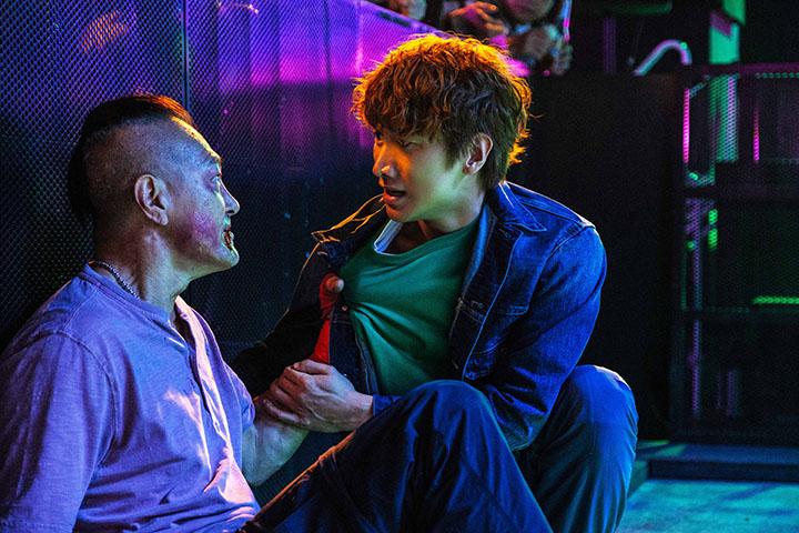 孫振峰(右)與盧惠光(左)