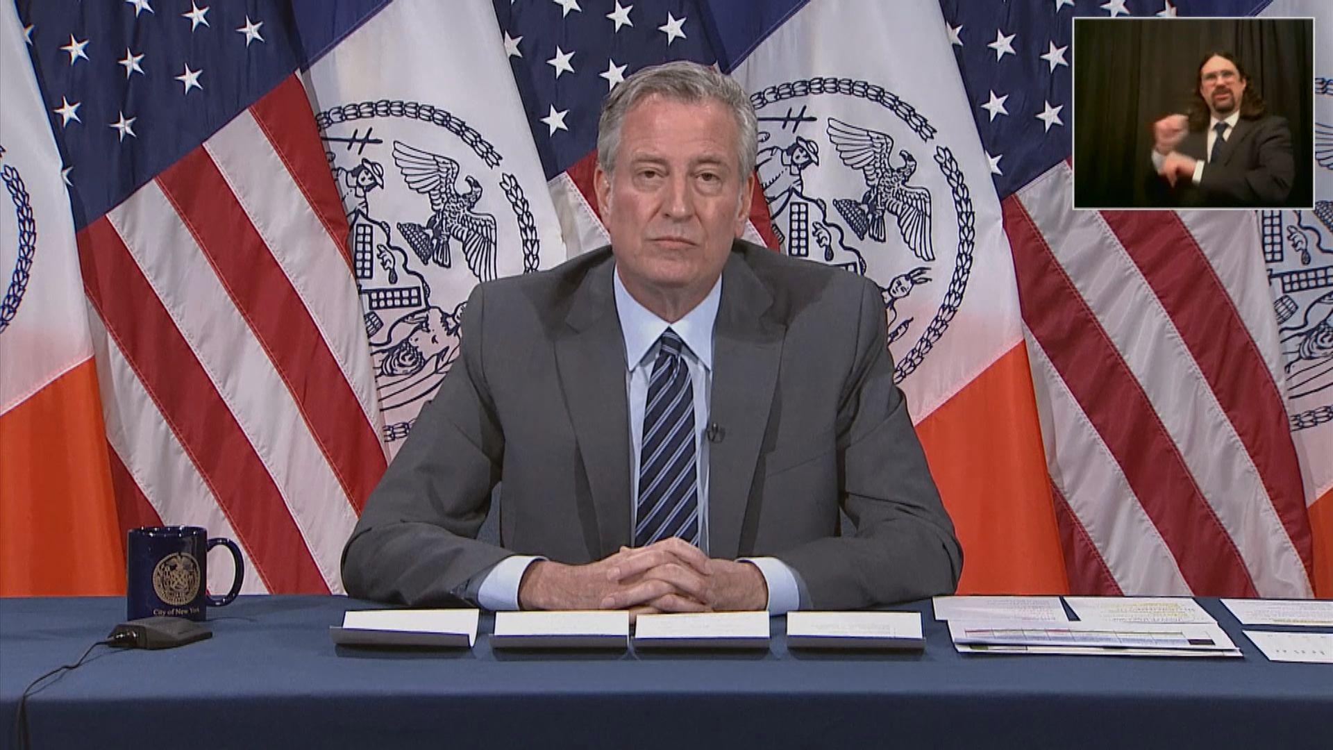 特朗普要求各州出動國民警衛軍平息示威 紐約市長拒絕