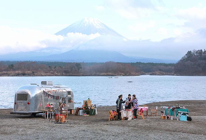 二人同遊富士山