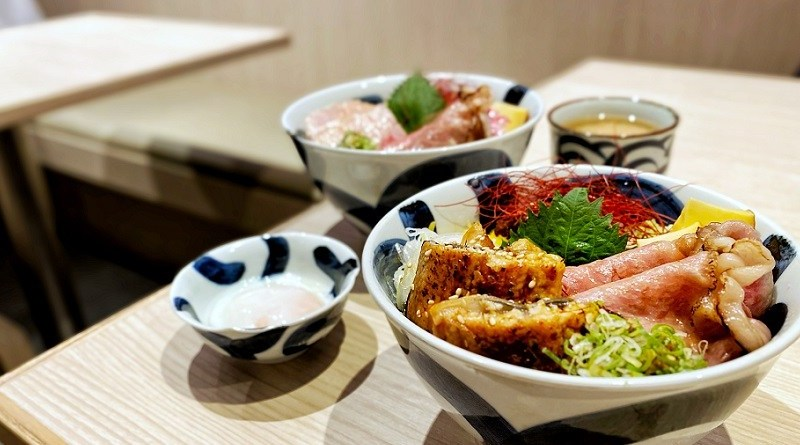 〈好食〉本気盛牛肉祭 太古城北海丼
