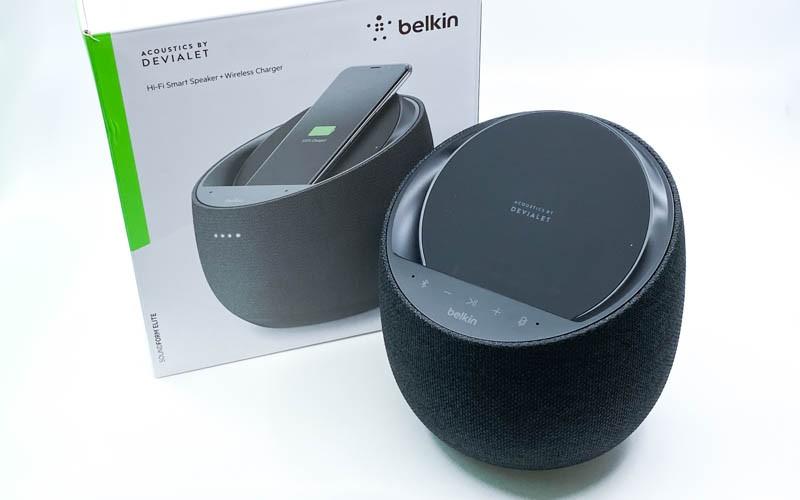 SAM Lab 精巧聲場調音 Belkin x Devialet SOUNDFORM ELITE Hi-Fi邊播邊無線充電