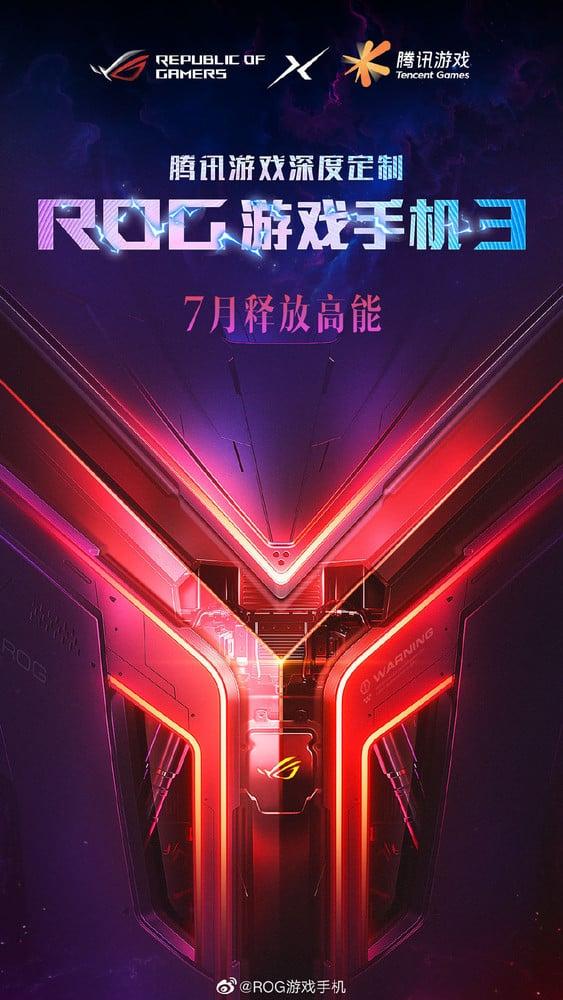 ROG Phone 3 定於7月發布,或搭載驍龍865 Plus 處理器