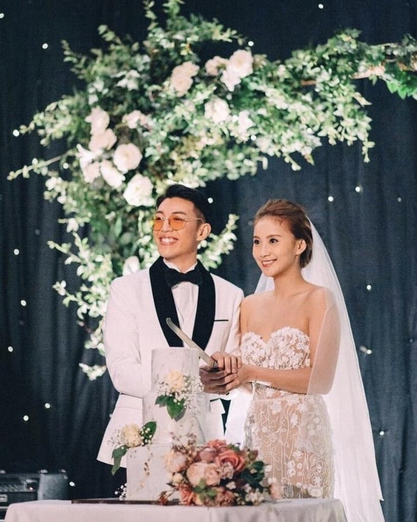 林師傑與港姐歐陽巧瑩於2018年拉埋天窗