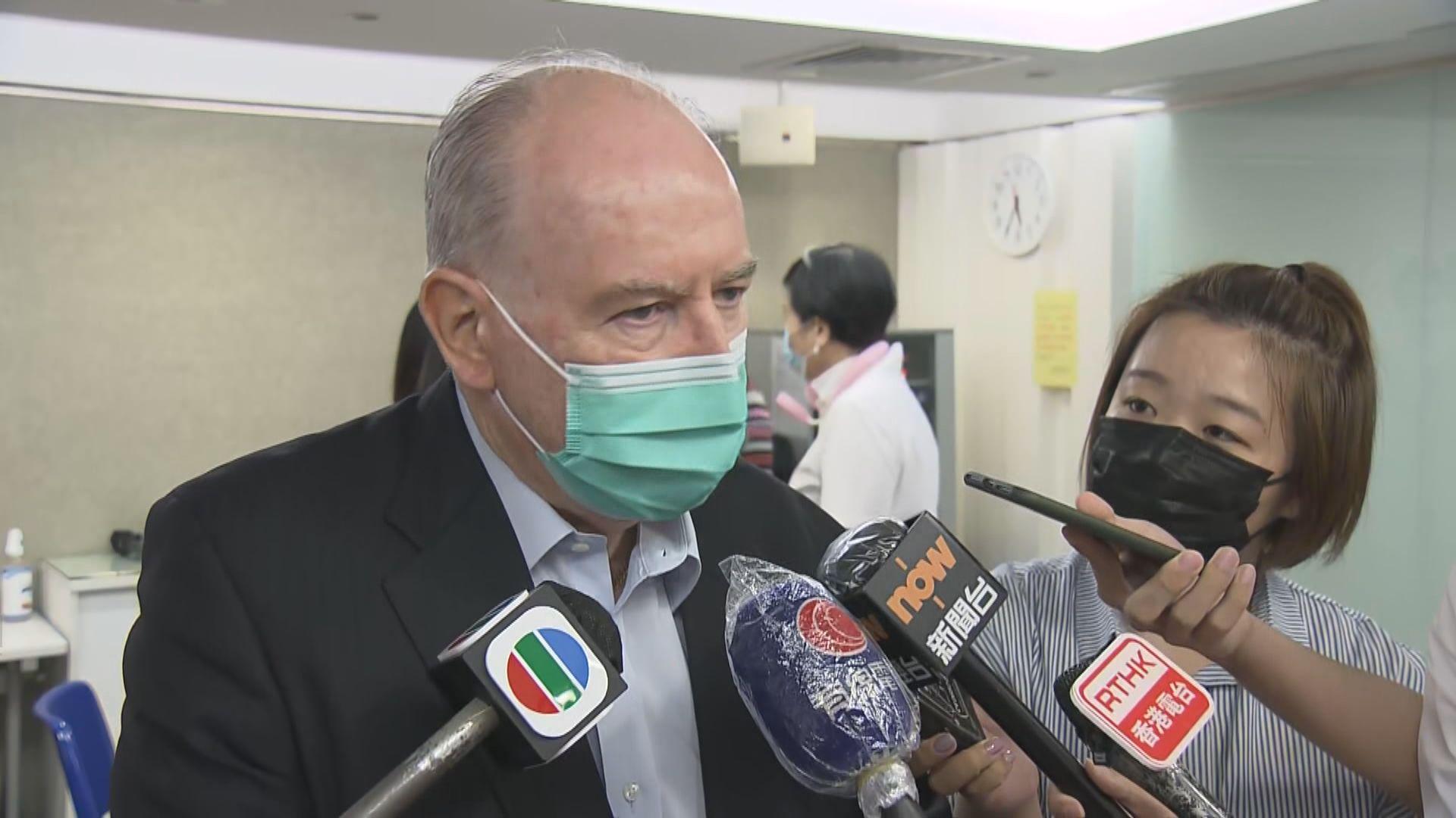 李定國:最終法規或法例的解釋是由香港法院決定