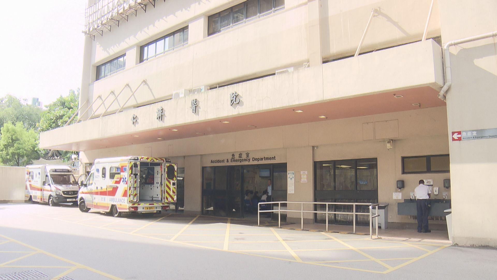 消息:仁濟醫院59歲男患者初步確診 感染源頭暫時未明