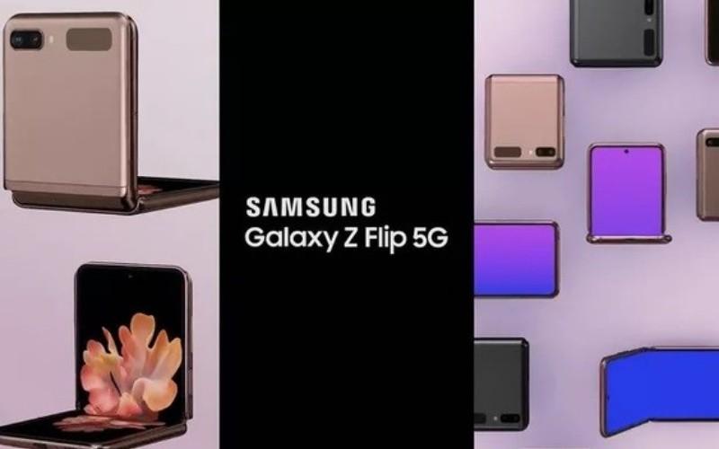 SAMSUNG 翻蓋摺屏手機 Galaxy Z Flip 5G 再曝光!