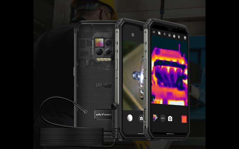 附設熱感及內窺鏡功能,三防手機 UleFone Armor 9 開價$4,280!