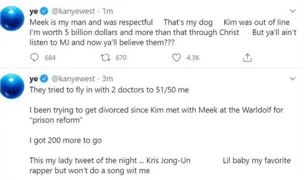 Kanye自爆想離婚 Kim透露老公躁鬱症復發籲公眾理解