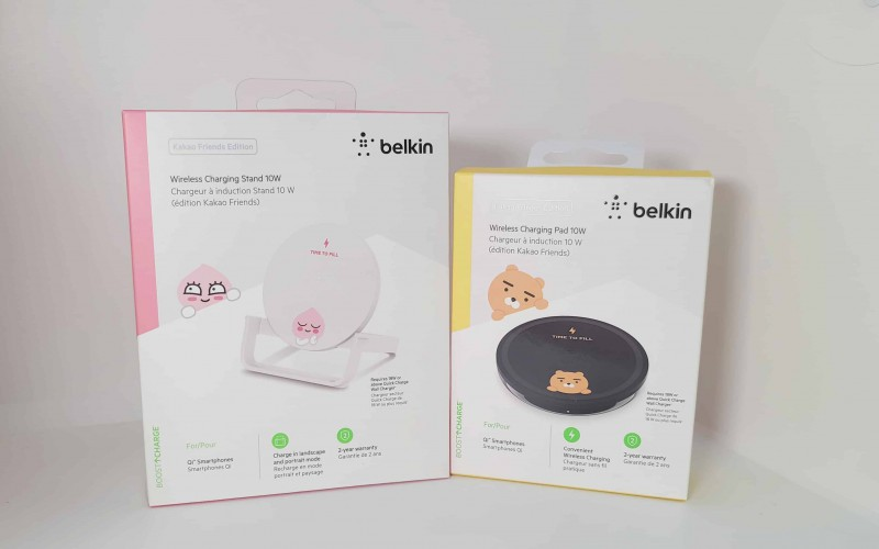 Belkin 推出 KAKAO FRIENDS 無線充電板及充電座!