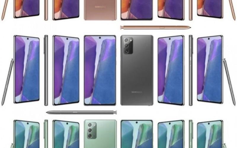 SAMSUNG Galaxy Note 20 系列又會有什麼顏色?