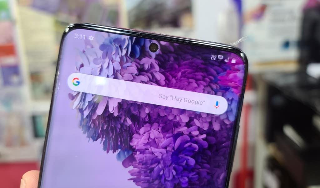 韓版 Galaxy S20+ 5G 支援 CMHK 5G 網絡
