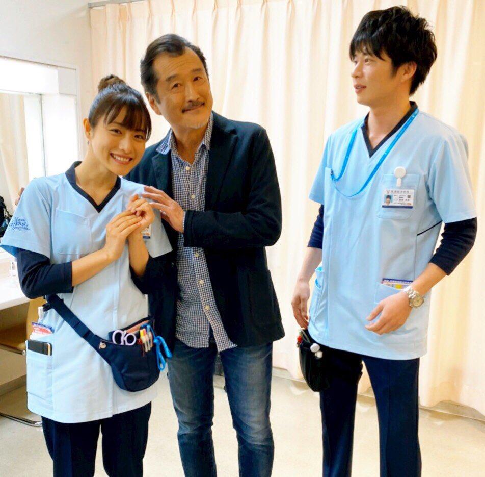 【大叔的愛】「部長」探班 田中圭有點尷尬?