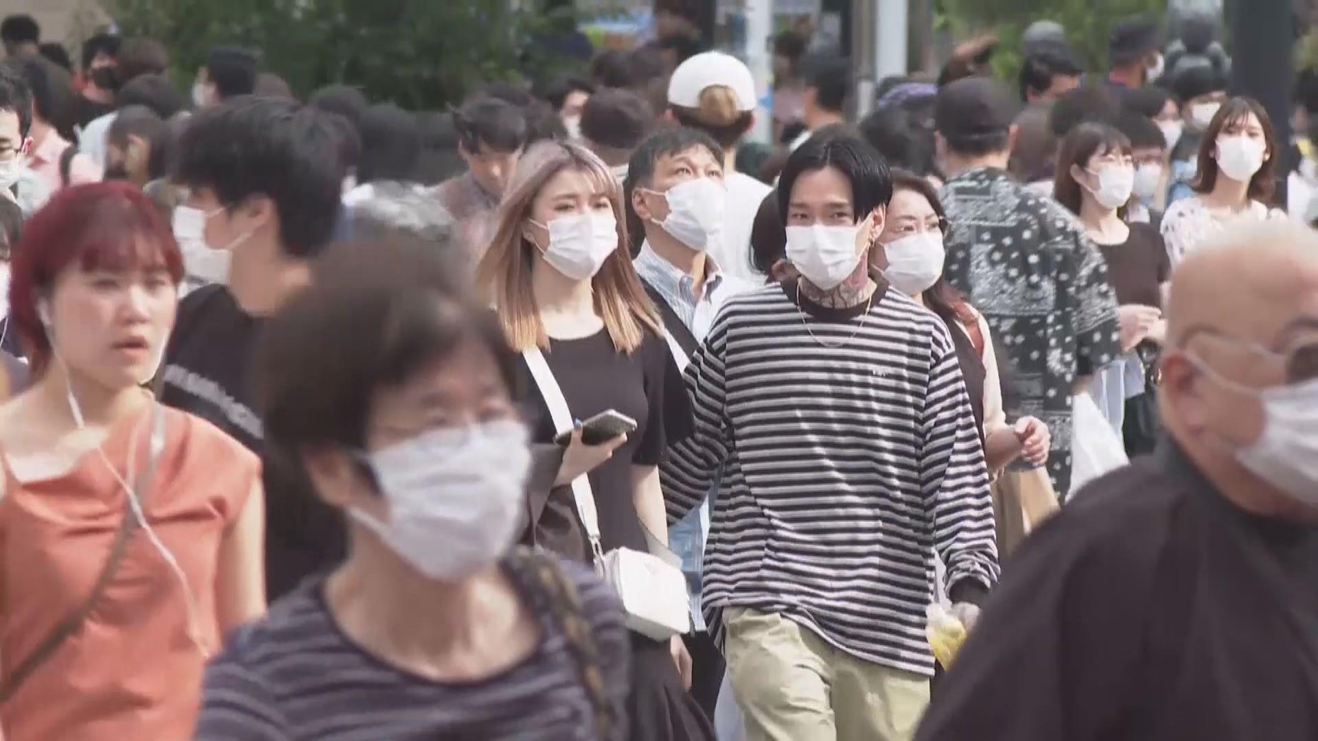 亞洲多國新冠病毒疫情再趨緊張 東京新增367宗確診