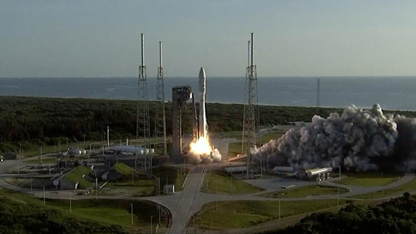 美國火星探測器「毅力號」升空 預計明年2月抵達火星