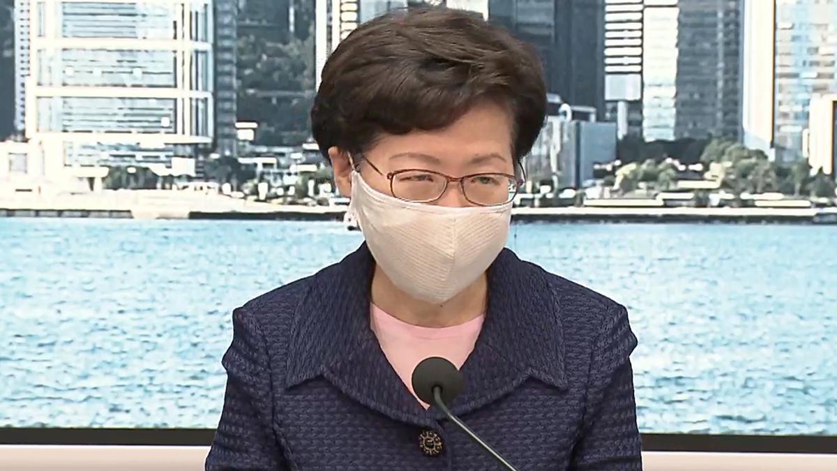 林鄭冀內地製疫苗可顧及香港七百多萬市民需要
