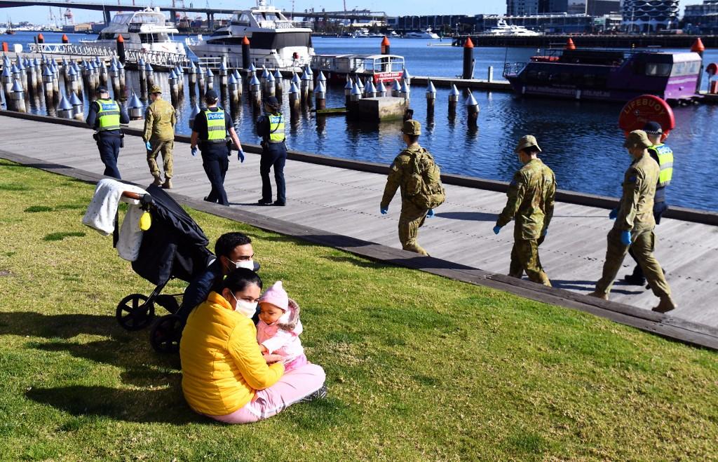 澳洲疫情反彈 維多利亞州進入災難狀態